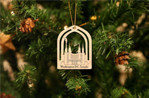 Washington D.C. Temple Christmas Ornament