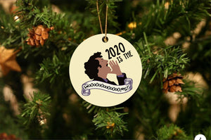 John Ralphio 2020 is the Wooorst Christmas Ornament