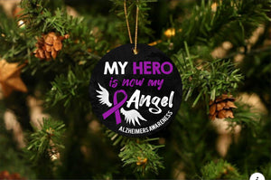 Alzheimer's Angel Christmas Ornament - Buy 10 Get 50% OFF!