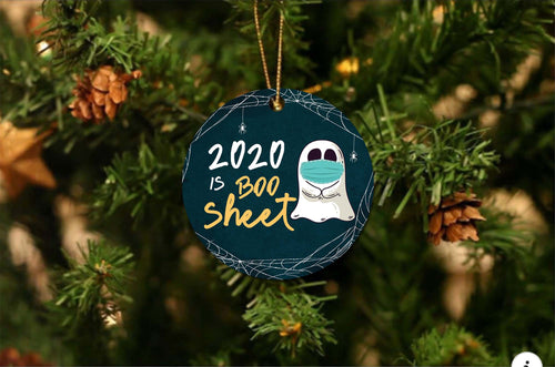 Boo Sheet 2020  Ornament