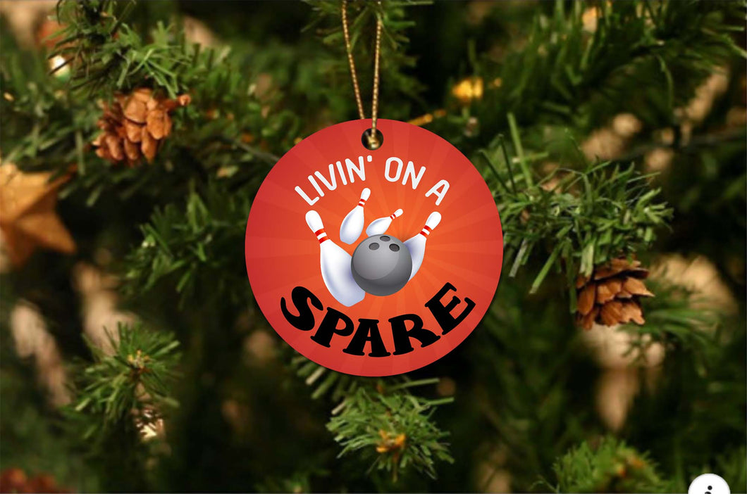 Living On A Spare Christmas Ornament