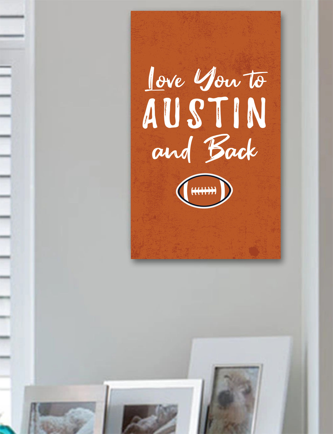 Austin and Back Sign