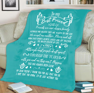 Custom Designed Best Friends Blanket