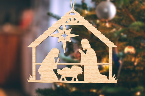 Nativity Small Christmas Ornament