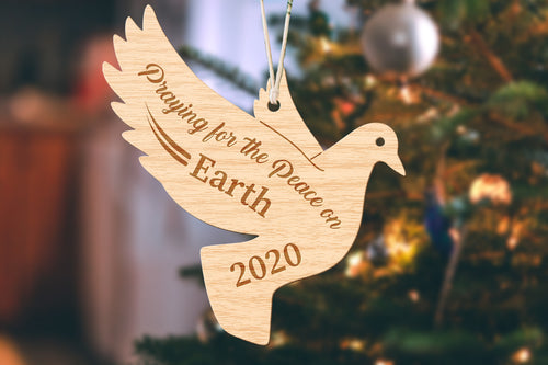 Dove Small Christmas Ornament