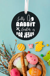 Silly Rabbit Easter Ornament