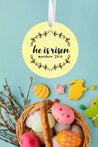He Is Risen Ornament