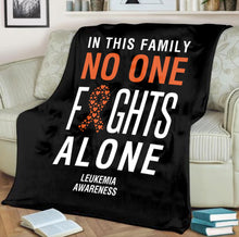 Load image into Gallery viewer, Leukemia Awareness Blanket