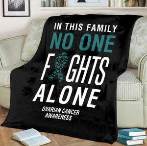 Custom Designed Ovarian Cancer Blanket