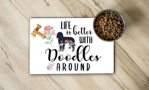 Better With Doodle Place Mat