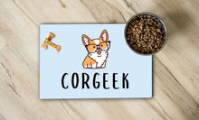 Load image into Gallery viewer, Corgeek Pet Place Mat