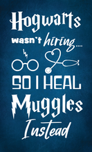 Load image into Gallery viewer, Hogwarts Nurse Wood Sign