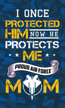 Load image into Gallery viewer, Air Force Mom Wood Sign