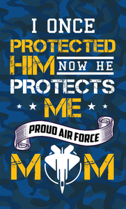 Air Force Mom Wood Sign
