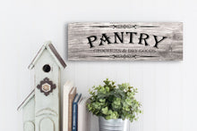 Load image into Gallery viewer, Pantry Sign
