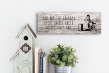 Load image into Gallery viewer, Barrel Racing Grandma Rustic Sign