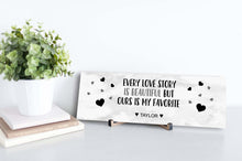 Load image into Gallery viewer, Every Love Story Is Beautiful Personalized Sign