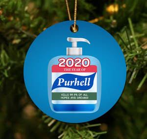 Purhell Christmas Ornament