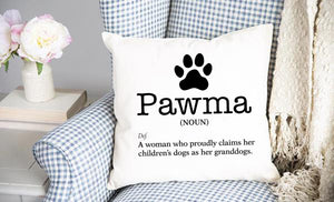 Pawma Throw Pillow Cover