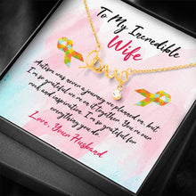 Load image into Gallery viewer, Autism Love Necklace
