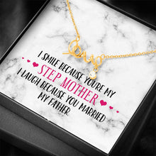 Load image into Gallery viewer, Smile Step Mother Love Necklace