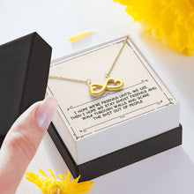Load image into Gallery viewer, Ghost Friends Infinity Heart Necklace