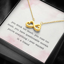 Load image into Gallery viewer, Friend Infinity Heart Necklace