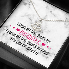Load image into Gallery viewer, Smile Daughter Anchor Necklace
