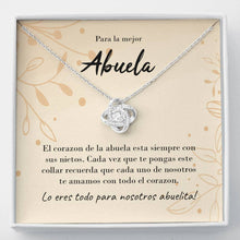Load image into Gallery viewer, Abuela Knot Necklace