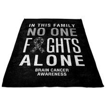 Load image into Gallery viewer, Custom Designed Brain Cancer Awareness Blanket