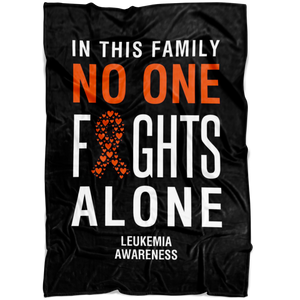 Leukemia Awareness Blanket