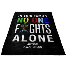 Load image into Gallery viewer, Custom Designed Autism Awareness Blanket