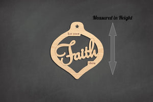 Faith Christmas Ornament