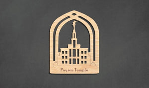 Payson Temple Christmas Ornament