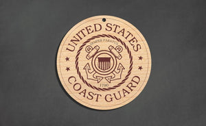 U.S. Coast Guard Christmas Ornament