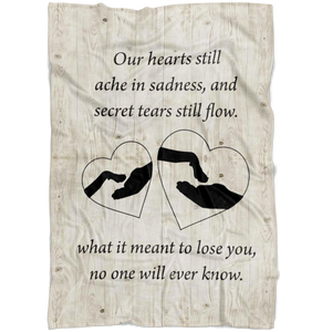 Our Hearts Still Ache Blanket