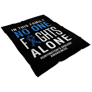 Huntington's Disease Awareness Blanket