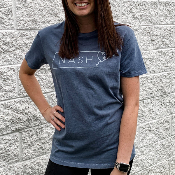 Nash Slightly Distressed Tee
