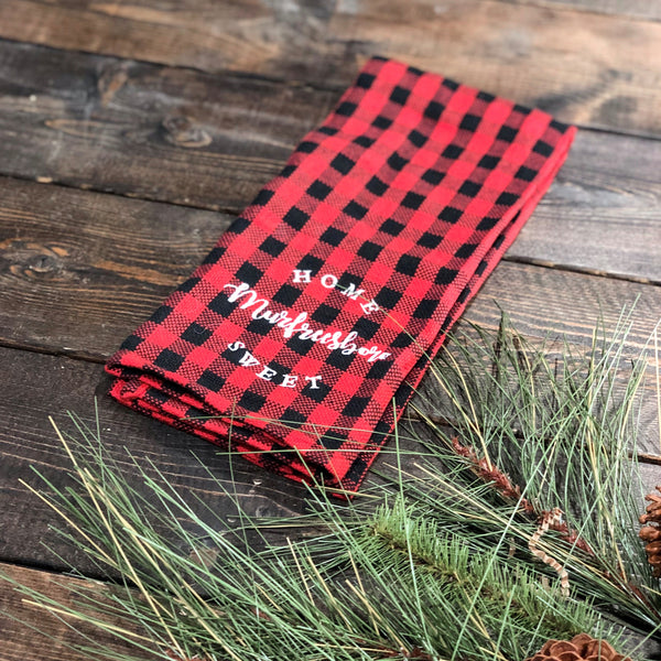 For the Love of Plaid Kitchen Towel [Murfreesboro]