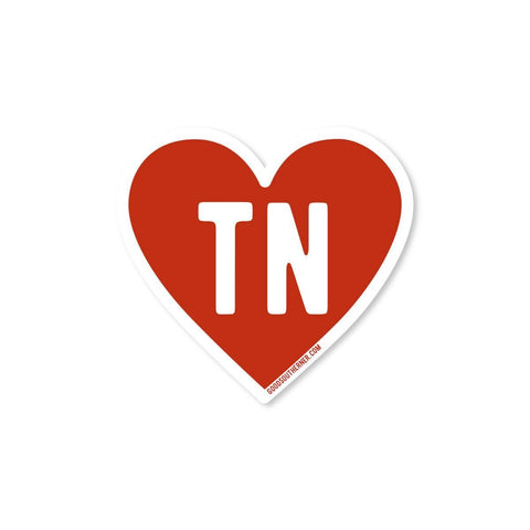 Love Tennessee Sticker