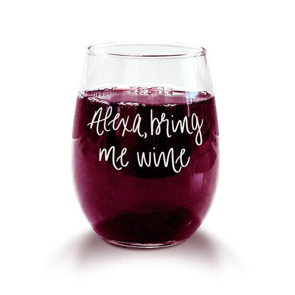 Alexa, Bring Me Wine Glass