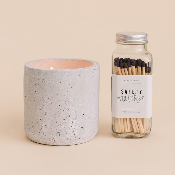 Spa Day Double Wick Concrete Candle