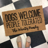 Personalized Custom Doormat