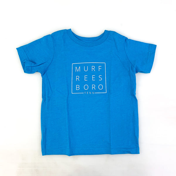 Turquoise Original Toddler Tee