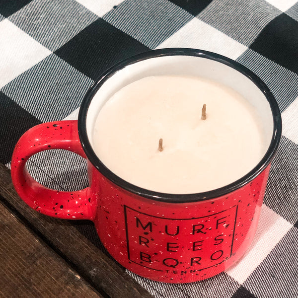 Burning Love Campfire Candle