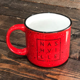 Red Nashville Square© Campfire Mug