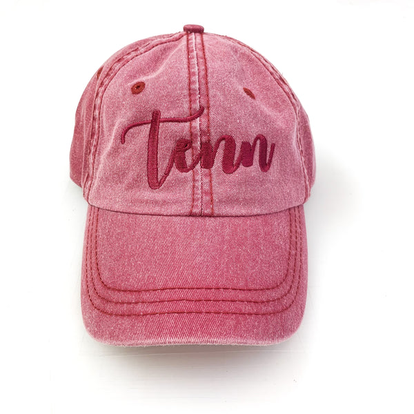 Tenn Snow Wash Hat [Cardinal]