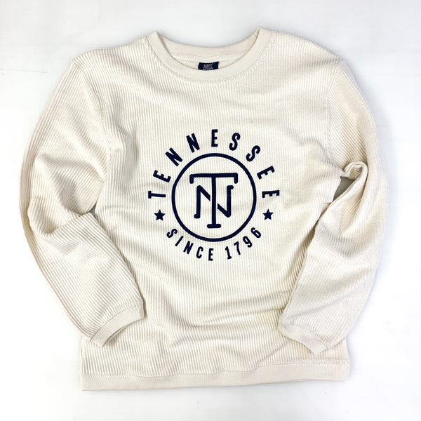 TN Corded Crew Pullover [Ivory]