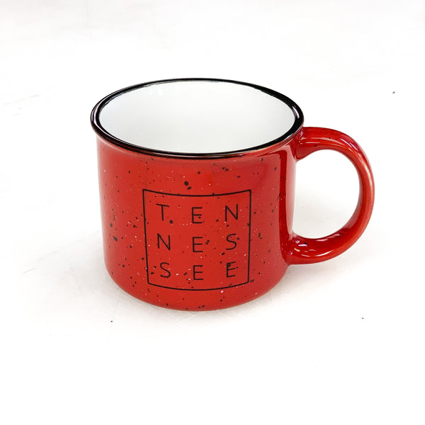 Red Tennessee Square© Campfire Mug