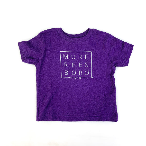 Original Murfreesboro Square© Toddler Tee [Purple]